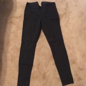 JCrew size 2 pixie pant in charcoal